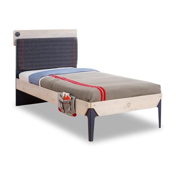 Jednolôžková posteľ Trio Line Bed, 100 × 200 cm