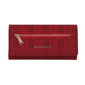 Červená peňaženka Laura Ashley Cecilia Tartan