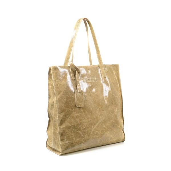 Kožená kabelka Diana, taupe
