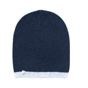 Modrá čiapka Simple Mind
