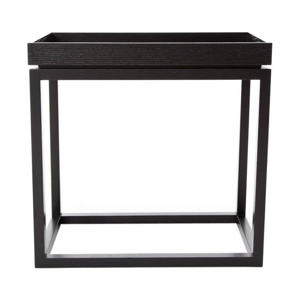 Čierny konferenčný stolík NORR11 Theo