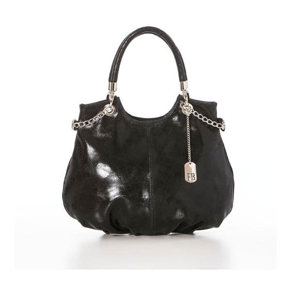 Kožená kabelka Elephant Black