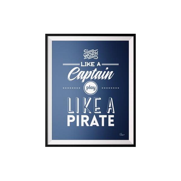 Plagát Captain, 40x50 cm