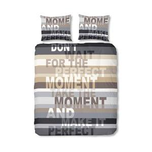 Obliečky Perfect Moment, 140x200 cm, sivé
