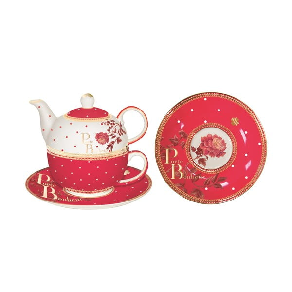 Sada kanvičky, hrnčeka a tanierika Tea for One