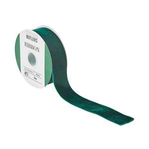 Zelená darčeková stuha Butlers, dĺžka 3 m