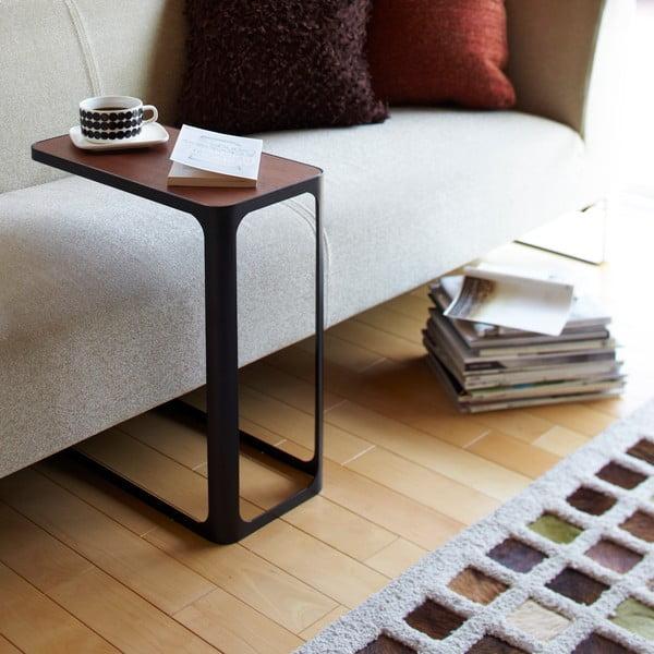 Čierny stolík Yamazaki Frame