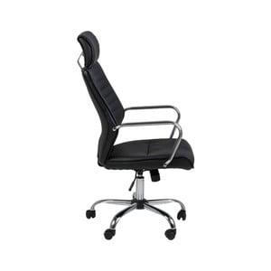 Čierna kancelárska stolička Actona Earth