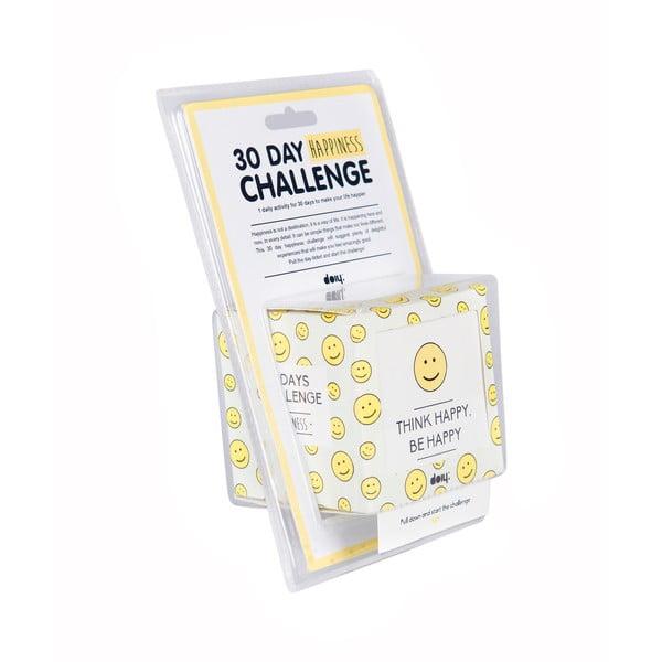 30-denná výzva pre šťastie Thinks Happy