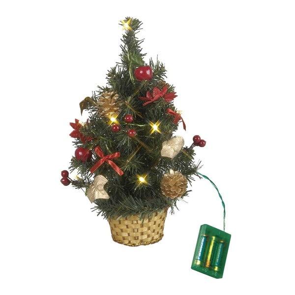 Svietiaca dekorácia Tree in Basket