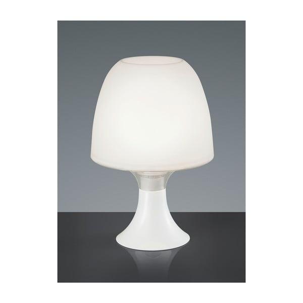 Stolová lampa Akki, biela