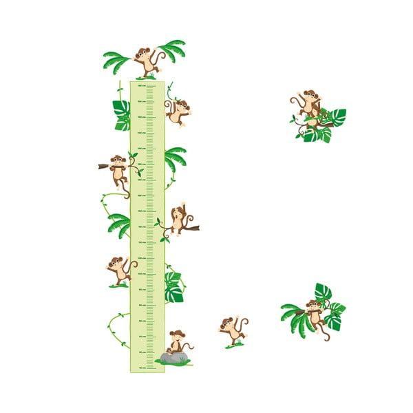 Samolepka meter Little Jungle Plant