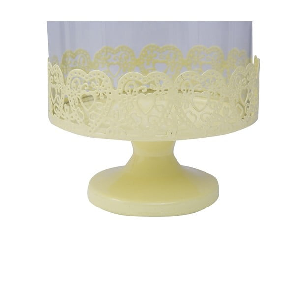 Stojan na torty Dolci 29 cm, žltý