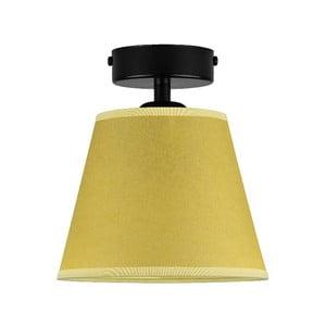 Žlté stropné svietidlo Sotto Luce IRO Parchment, ⌀ 16 cm