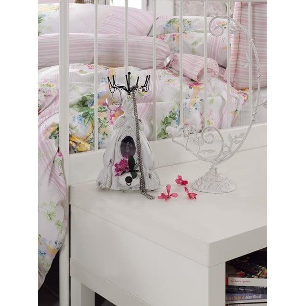 Ružové obliečky s plachtou Love Colors Sarah, 200 x 220 cm