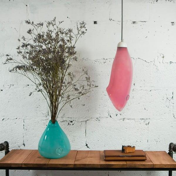 Stropné svetlo Glass, ružové