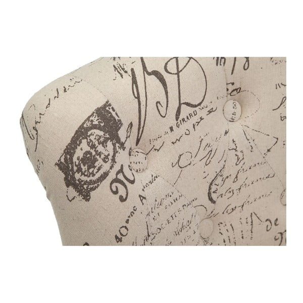 Kreslo Handwriting, 70x63x67 cm