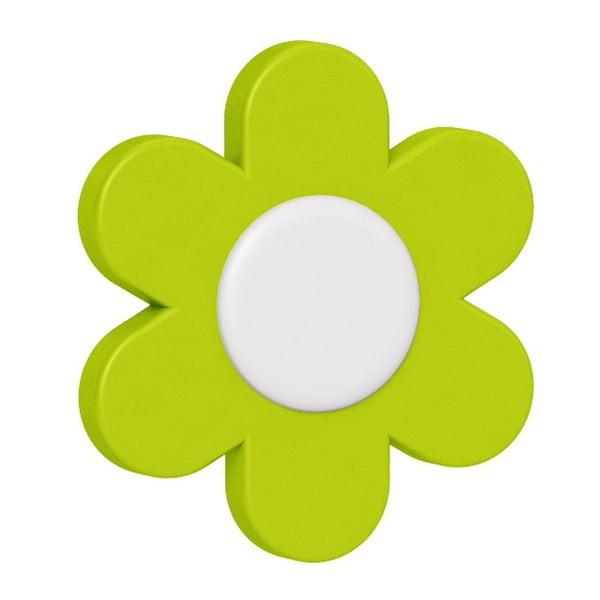 Dekoratívne klipsy na kvetináč Flower Yellow/Green/Blue, 3 ks
