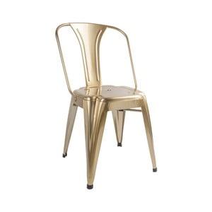 Stolička v bronzovej farbe Leitmotiv Dazzle