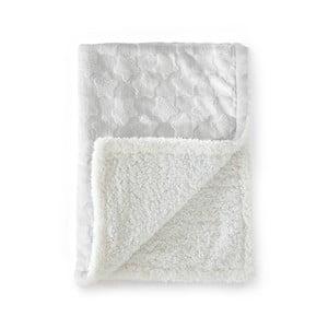 Sivá detská deka Tanuki Estrellas, 110×140cm
