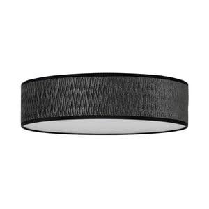 Čierne stropné svietidlo Bulb Attack Once, ⌀ 40 cm