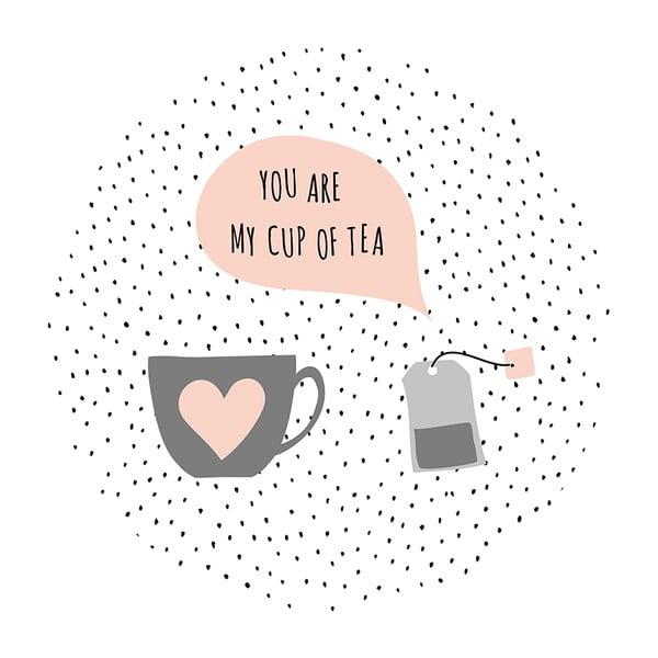 Kávový Stolík Tea Bag In Love