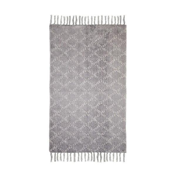 Sivý bavlnený koberec HSM collection Colorful Living Mano, 150×210 cm