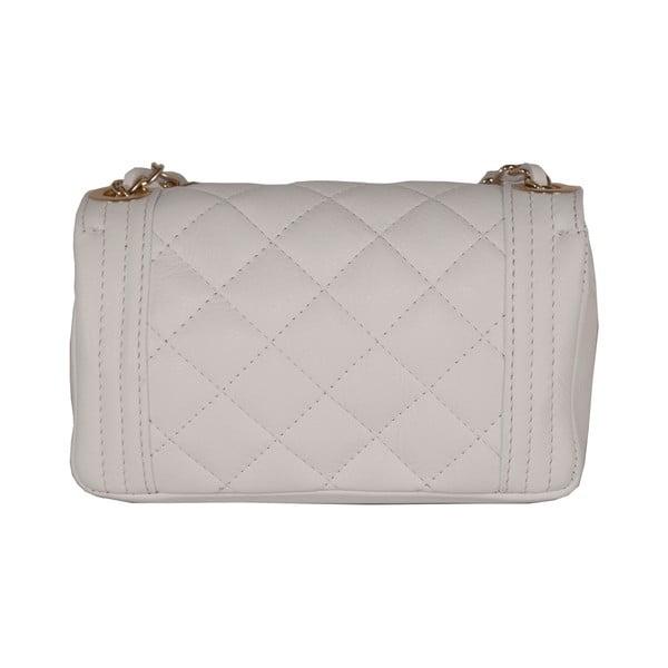 Biela kabelka z pravej kože Andrea Cardone Elena