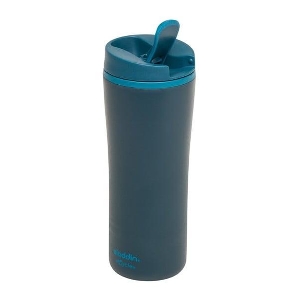 Petrolejovozelený termohrnček Aladdin eCycle Flip-Seal ™, 350ml