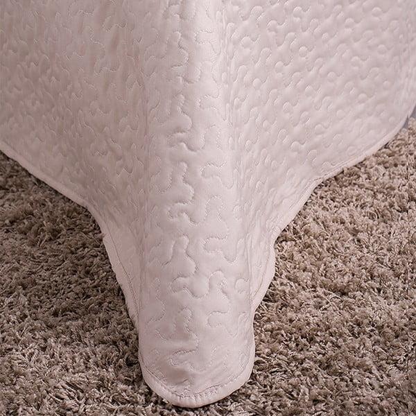 Prešívaná prikrývka Home 200x220 cm, krémová
