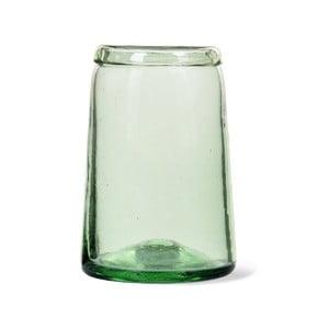 Váza z recyklovaného skla Garden Trading Tulip, ø 11 cm