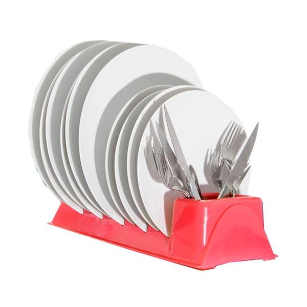 Červený stojan na taniere Jocca