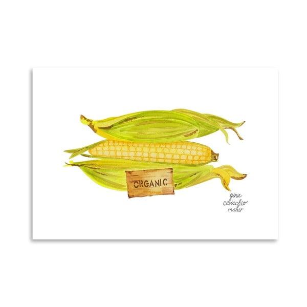 Autorský plagát Corn, 30x42 m