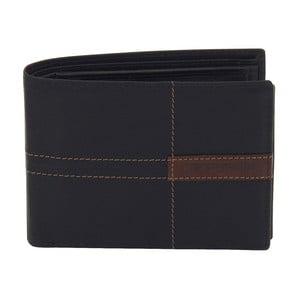 Čierna kožená peňaženka Friedrich Lederwaren Cross