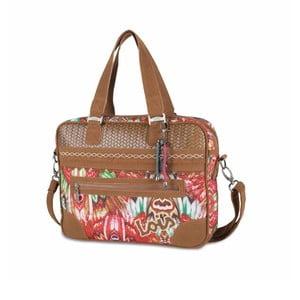 Farebná kabelka Lois, 38 x 29 cm