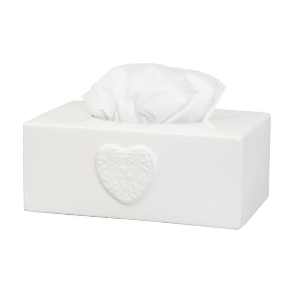 Box na vreckovky Heart