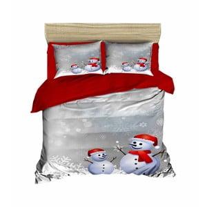 Vianočné obliečky na dvojlôžko s plachtou Max, 200×220 cm