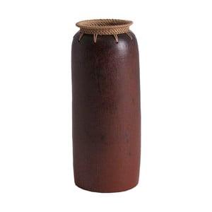 Váza z exotického dreva Last Deco Kenya, výška 40 cm