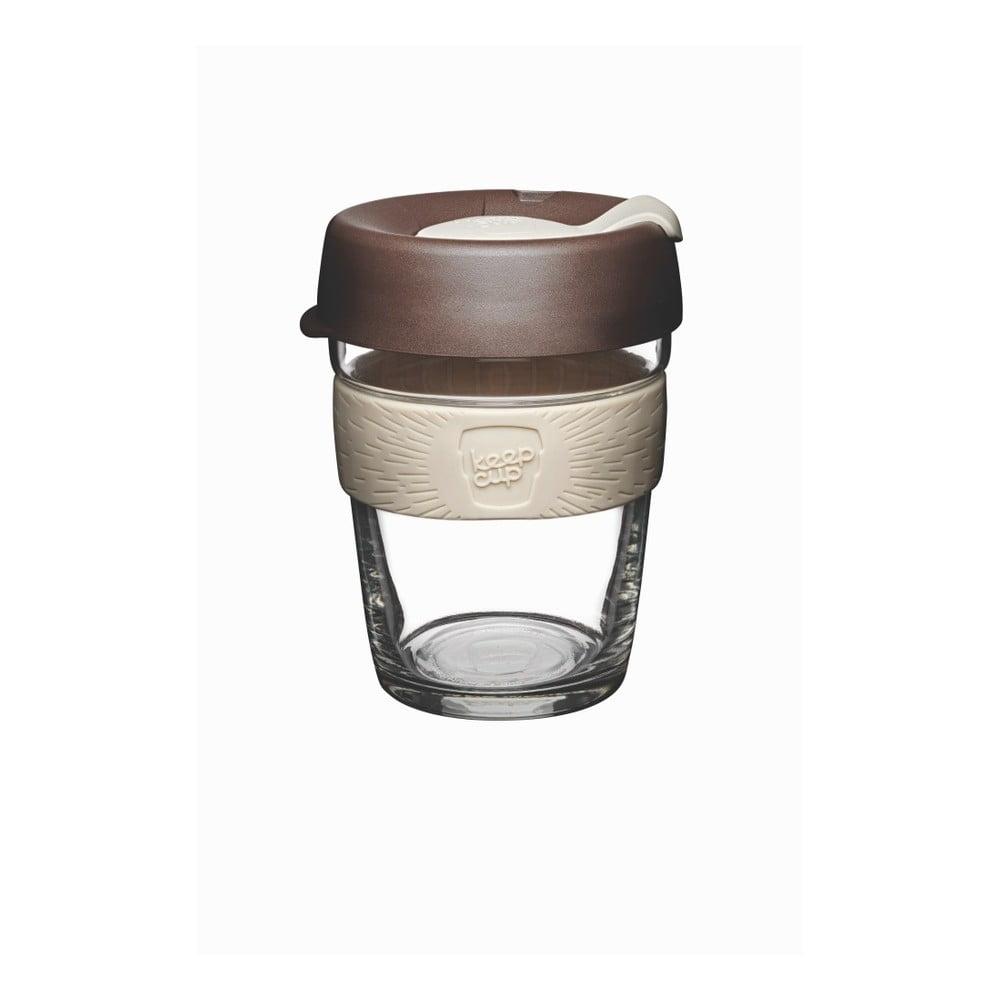 Cestovný hrnček s viečkom KeepCup Brew Roast, 340 ml