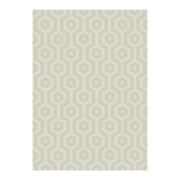 Koberec Asiatic Carpets Echo Geo Taupe, 120x170 cm