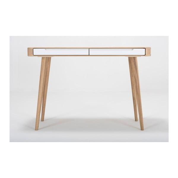 Konzolový stolík z dubového dreva Gazzda Ena, 110×42×75 cm