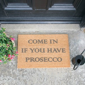 Rohožka Artsy Doormats Come In If you Have Prosecco, 40 × 60 cm