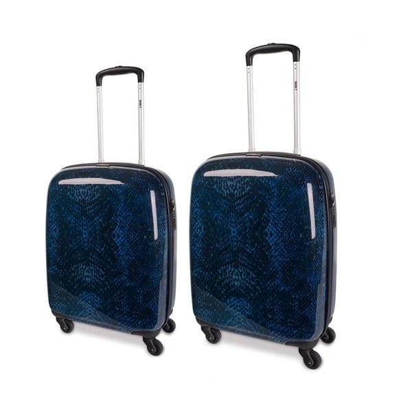 Sada 3 kufrov Skpa-T, modrá
