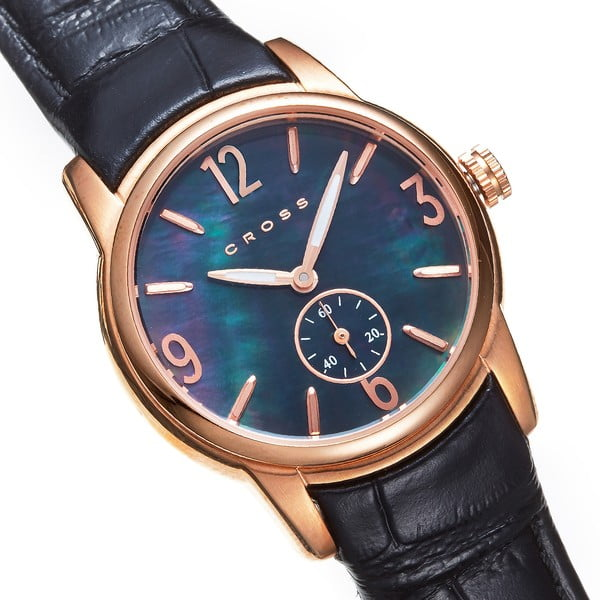 Dámske hodinky Cross Palatin Black, 30 mm