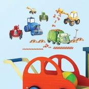 Dekoratívna samolepka Tractors & Trucks