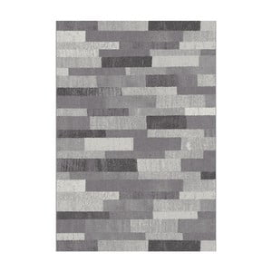 Sivý koberec Universal Adra Grey, 57x110cm