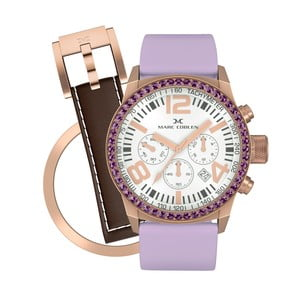 Dámske  hodinky Marc Coblen s remienkom a krúžkom na ciferník naviac P99