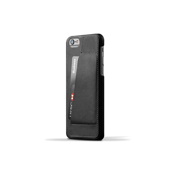 Peňaženkový obal Mujjo na telefón iPhone 6 Black