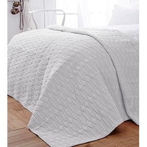 Biela prikrývka cez posteľ Bianca Simplicity, 200 x 200 cm