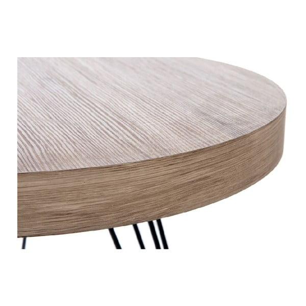 Stolík Retro Table Met, 55 cm